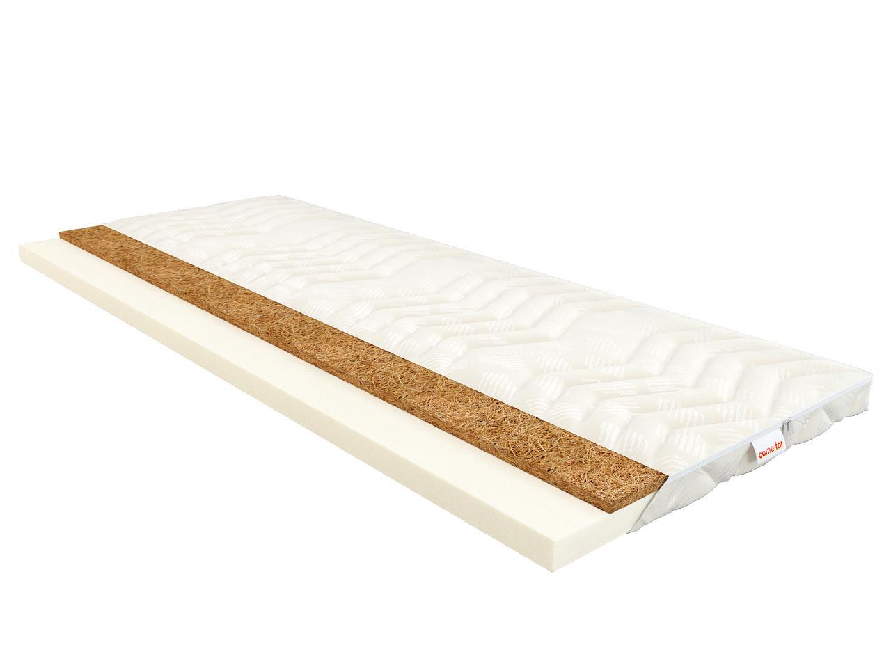 Тонкий ортопедический матрас (футон) Тайм  (для диванов и кроватей) топпер