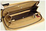Клатч жіночий гаманець лаковий (персиковий), фото 6