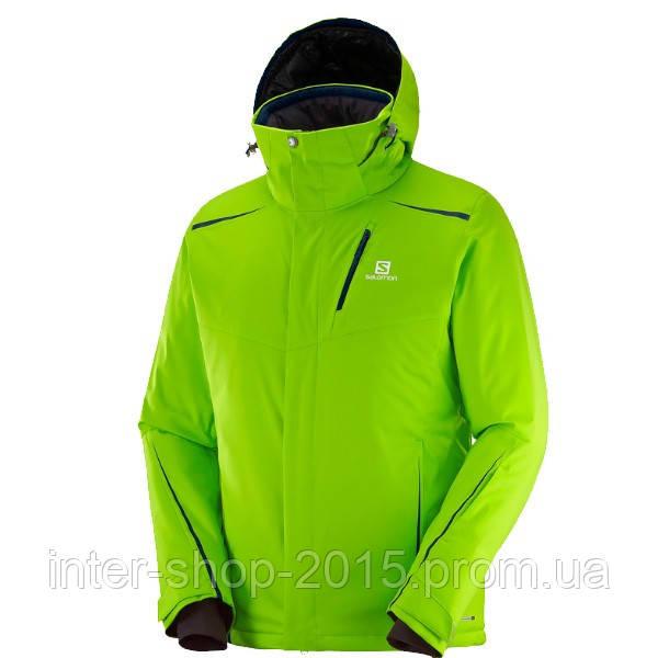 Мужская горнолыжная куртка Salomon Rise 408012  продажа, цена в ... c6c6176edfc