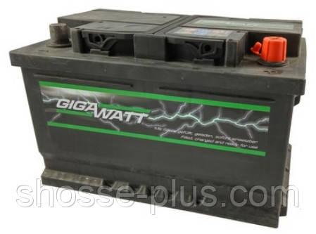 Аккумулятор  GIGAWATT 12v 90Ач 720А правый+