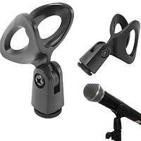 Гибкий прорезиненный держатель микрофона клипы для микрофонной стойки инструмент