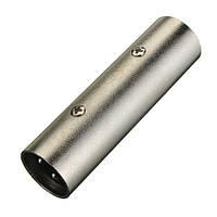 3-контактный XLR штекер переходник мужской пол смены аудиомикрофон адаптер DJ