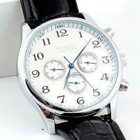 Мужские часы с автоподзаводом Jaragar Elite White