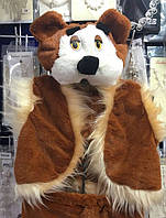 Новогодний костюм Медведя на рост от 116 до 134 см, 315