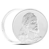 Сувенирная монета Тайная вечеря ужин Иисус цвет серебро