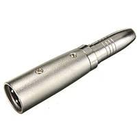 3-контактный XLR мужчины к 1/4 TRS разъем женского микрофон микрофон шнур адаптера кабеля