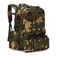 Рюкзак походный туристический камуфляжный 50 литров. Два цвета., фото 1