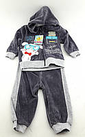 Костюм детский велюровый 12, 18, 24 месяцев Турция