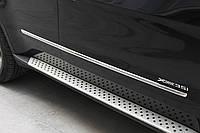 БОКОВЫЕ НАКЛАДКИ НА ДВЕРИ BMW X5 E70
