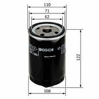 Фільтр Bosch масляний на AUDI 100 (44, 44Q, C3) 2.0 D Turbo (BO 0451203223)