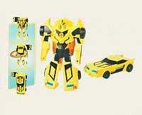 Трансформер 220B Bumblebee из мультфильма «Трансформеры: Роботы под прикрытием» Royaltoys