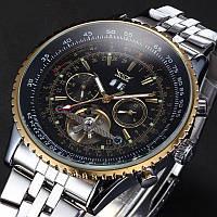 Мужские механические часы Jaragar Luxury с автоподзаводом