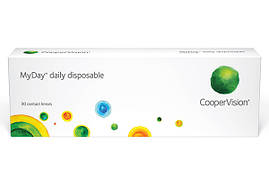 Контактные линзы MyDay, (30шт) Cooper Vision