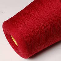 Пряжа Garda, красный тёмный (50% меринос, 50% ПА; 1400 м/100 г)