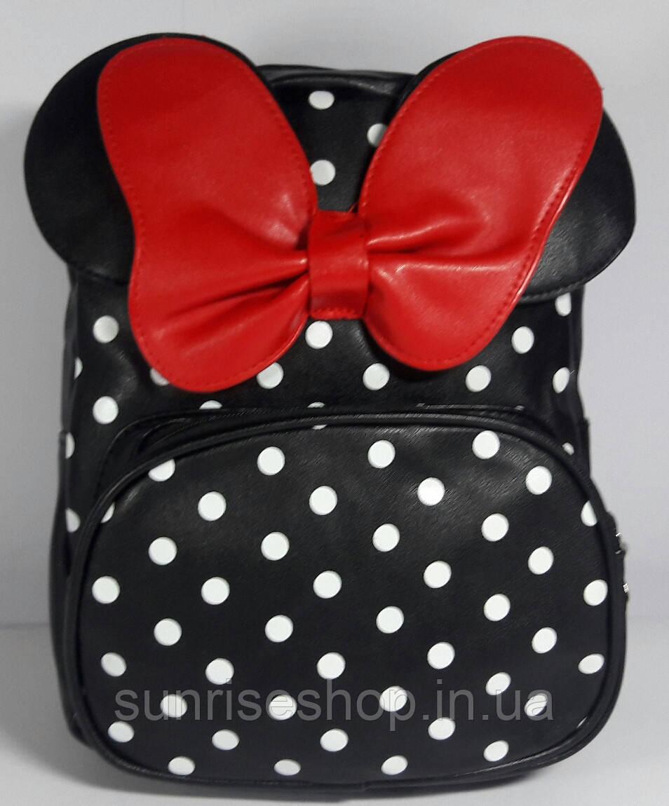 Рюкзак детский для девочки с наружным карманом
