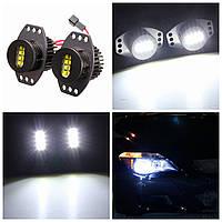 64W глаза ангела фар ксенон галоген LED для BMW E90 E91 06-08 белой лампы