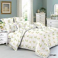 Детское постельное белье Вилюта для новорожденных ранфорс 17141 зеленый