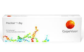 Контактныелинзы Proclear 1 day, (однодневные), 30 шт, Cooper Vision