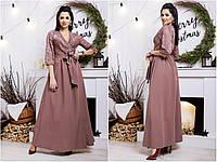 Платье гипюр в пол норма и ботал