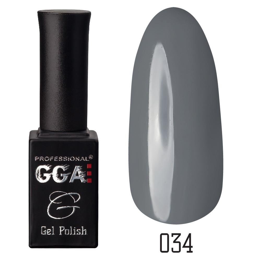 Гель-лак GGA, №034, 10 мл