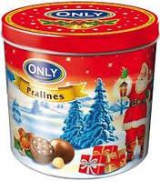 Шоколад Only, Pralines With Hazelnut Cream & Cereals Filling, 200 г