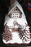 Пряничный дом - терем с действующим дымоходом и витражными окнами, фото 3