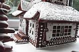 Пряничный дом - терем с действующим дымоходом и витражными окнами, фото 4