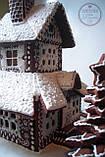 Пряничный дом - терем с действующим дымоходом и витражными окнами, фото 6