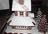 Пряничный дом - терем с действующим дымоходом и витражными окнами, фото 9