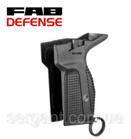 Пистолетная рукоятка PM-G Fab Defense (Израиль) с механизмом сброса магазина ЧЁРНАЯ