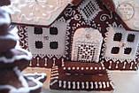 Пряничный дом - терем с действующим дымоходом и витражными окнами, фото 5