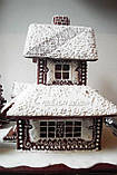 Пряничный дом - терем с действующим дымоходом и витражными окнами, фото 8