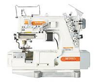 SIRUBA F007K-W522-356/FR/FFC/LS-A плоскошовная швейная машина с устройством подачи эластичных кружев