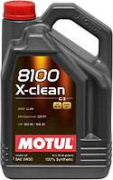 Масло MOTUL Specific 8100 X-Clean FE 5W-30 5л синтетическое  814151