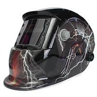 Череп Бог с молнией Солнечная Автомеханический сварщик Маска Сварочный сварочный шлем сварщика TIG MIG Маска