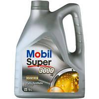 Масло MOBIL Super 3000 X1 5W-40 4л синтетическое 152556