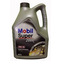 Масло Mobil  Super 2000 X1 10W40 5л полусинтетическое