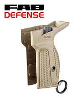 Пистолетная рукоятка PM-G Fab Defense (Израиль) с механизмом сброса магазина ПЕСОЧНАЯ
