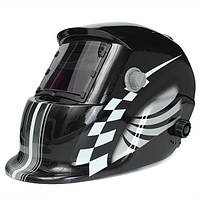 Гоночный трек авто-затемнения сварочный шлем сварщика Маска солнечной электросварочные