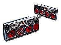 Задние фонари ВАЗ 2108, 2109, 21099, 2113, 2114 тонированные RS-01055, фото 1