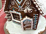 """Пряничный домик с елкой и дымоходом """"Скоро Новый год!"""", фото 2"""