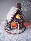 """Пряничный домик с елкой и дымоходом """"Скоро Новый год!"""", фото 3"""