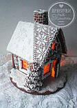 """Пряничный домик с елкой и дымоходом """"Скоро Новый год!"""", фото 4"""