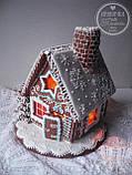 """Пряничный домик с елкой и дымоходом """"Скоро Новый год!"""", фото 5"""