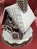 """Пряничный домик с елкой и дымоходом """"Скоро Новый год!"""", фото 7"""