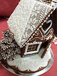 """Пряничный домик с елкой и дымоходом """"Скоро Новый год!"""", фото 8"""