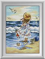 Морской пейзаж. Набор алмазной живописи (квадратные, полная)