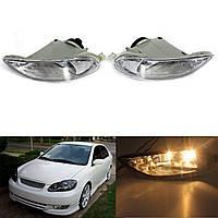 Бампер автомобиля противотуманные фонари передние лампы левый и правый для Toyota Corolla 05-08