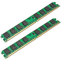 2шт 2gb PC2-6400 240pin ddr2-800mhz DIMM оперативной памяти материнской платы AMD