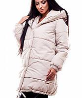 Женская зимняя свободная куртка (Юнис kr)